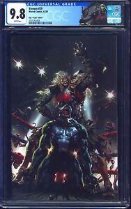 Venom #29 CGC 9.8 VIRGIN NGU WRESTLING COVER CUSTOM KNULL LABEL NM/MT