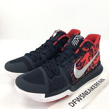 """4c4de590623a Nike Kyrie 3 QS """"Samurai"""" Men s 10 Multi Color 852395 900 Basketball Shoes  New"""