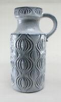 Scheurich 485-26 Zwiebel Amsterdam 60s Keramik Vase Fat Lava blau wgp space age