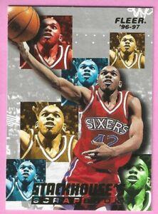 1996-97 Fleer Jerry Stackhouse / Stackhouse's Scrapbook #S9 Philadelphia 76ers