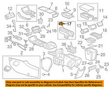 GM OEM Armrest-Console-Latch 22844266