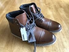 New SONOMA Goods for Life Reddan Cognac Men's Casual Ankle Boots US Sz 8.5 M