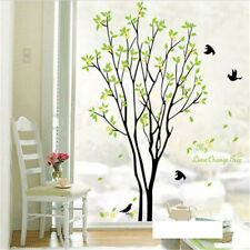 Removable Tree Bird Art Vinyl Quote DIY Wall Sticker Decal Mural Room Adro OUZ