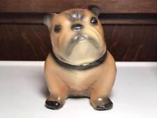 Antique chalkware Mack Bulldog Figurine