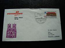 ALLEMAGNE (rda) - enveloppe 18/4/1980 (berlin/brussel) (cy22) germany