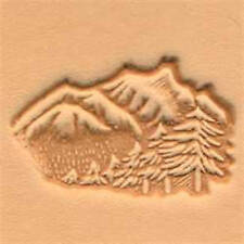 Mountain and Trees 3D Stamp 88324-00 by Tandy Leather