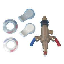Automatik Einhebel-Mischarmatur für Warm-/Kaltwasser.