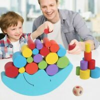 Moon Equilibrium Blocks Game Puzzle Toy Wooden Toy Gift for Kids Early Education