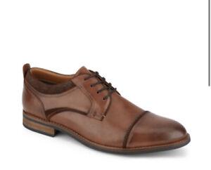 Dockers Bergen Cap Toe Leather Oxford Chestnut Shoes