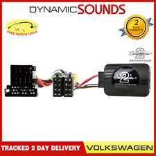 CTSVW001.2 Steering Wheel Stalk Control Adaptor For VW Bora Golf MK4 Lupo