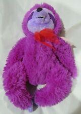 "Dan Dee 10"" Purple Sitting Sloth Plush"