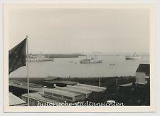 Helgoland Insel Nordsee Schiff Dampfer Hafen - Altes Foto 1960er 1970er