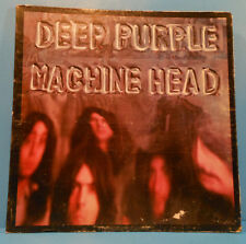 DEEP PURPLE MACHINE HEAD LP 1972 RE 73 SMOKE ON THE WATER PLAYS GREAT! VG+/VG!!C