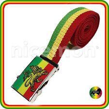 Lion Of Judah Rasta Rastafari Belt Jamaica Marley Africa Ethiopia Selassie NEW
