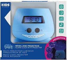 Bigben Wecker RPE01 Kids My Teddy blau mit Projektor AU354645
