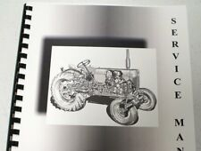 Oliver Cletrac W Service Manual