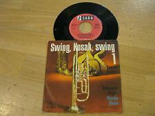 """7"""" Single Benny Bailey Swing Kosak swing 1 Schwarze Augen Vinyl SABA SB 30 54"""