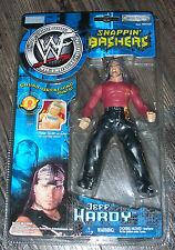 2002 WWF WWE Jakks Jeff Hardy Snappin' Bashers Wrestling figure MOC TNA Impact