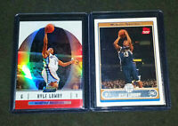 KYLE LOWRY RC 2006-07 FINEST REFRACTOR ROOKIE + TOPPS RC! Raptors Grizzlies