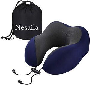 NEW Memory Foam U-Shaped Travel Pillow Neck Support Rest Car Plane Soft Cushion