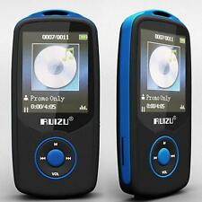 4GB BLUE RUIZU BLUETOOTH TOORTS LOSSLESS MP3 MP4 PLAYER MUSIC VIDEO FM TUNER TO