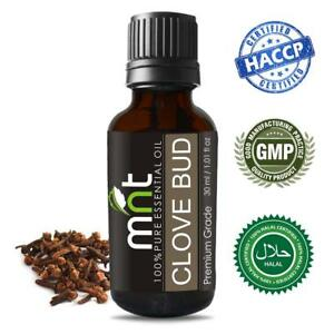 3 to 1000 ML Clove Bud Essential Oil 100% Natural Undiluted Uncut Aromatherapy