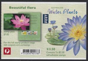 Australia 2017 Water Plants (Giant WaterLily) booklet Phil 901783 B745