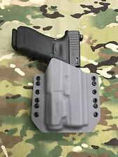 Battleship Gray Kydex Bearing Holster Glock 17 GEN5 nforce APL gen3 light only