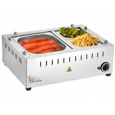 More details for commercial hot dog steamer with sauce pan