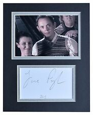 James Payton Signed Autograph 10x8 photo display Harry Potter Film AFTAL COA