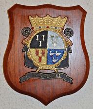 Hr Ms Van Nes plaque shield crest Dutch Navy Netherlands gedenkplaat