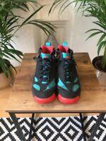 Nike Air Tech Challenge Huarache Black/Turquoise/Red UK 8