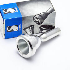 Stork T2 Light Weight Large Shank Silver Trombone Mouthpiece