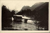 Olden Norwegen Norge alte AK ~1930 Nordfjord Fjord Landschaft Fluß Brevkort