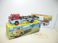 dinky atlas, camion SAVIEM PORTE FER, dinky toys atlas ref 885