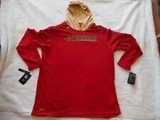 Authentic Nike Dry Cotton San Francisco 49ers L/S Lite Hoodie Men 3XL TAGS NEW!!
