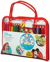 Disney Activity Set Colouring Sets with Stencils for Children Art Sets for Kids