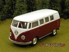 Die Cast 1962 VW Bus by Kinsmart Small G Scale 1:32 by Kinsmart 62 VW Bus