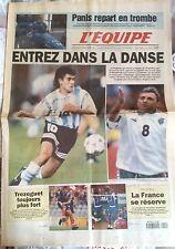 L'Equipe Journal 10/9/1997; Panis repart en trombe/ Qualification Mondial 98