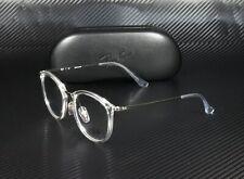 RAY BAN RX7140 2001 Trasparent Demo Lens 51 mm Unisex Eyeglasses