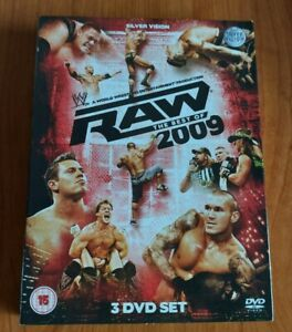 WWE - Raw Best Of 2009 / 3 Dvd Boxset  Certificate 15