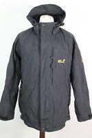 JACK WOLFSKIN TEXAPORE 4X4 Black Light Jacket Size 36/38