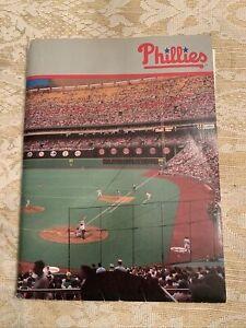 1993 Philadelphia Phillies Pocket Schedule News Letter Sticker Roster  & More