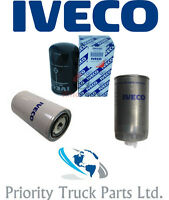 Genuine Iveco Eurocargo Filter Service Kit - Fuel, Oil & Water Filters