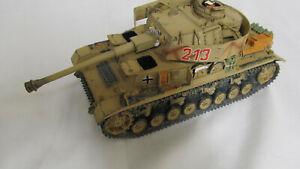 German Tank Panzer kampfwagen IV King & Country Damaged used