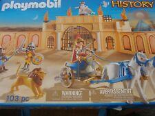 "Playmobil 5837 – ""History"" Römische Wettkampfarena-103 Teile-NEU"