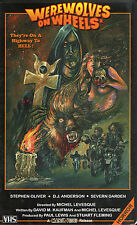 Werewolves on Wheels (1971) VHS Manor Video LTD Cult Horror Biker Grindhouse