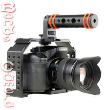HONU V2.0 Video Cage Kit with Top Handle & HDMI Clamp for GH3 GH4 A7 A7R camera