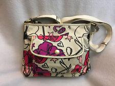 Coach Kyra Poppy Floral Sateen Crossbody Purse Bag F19229 READ FLAWS