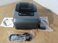 Zebra GX430t  Thermal Transfer Label Printer 300 DPi USB Interface